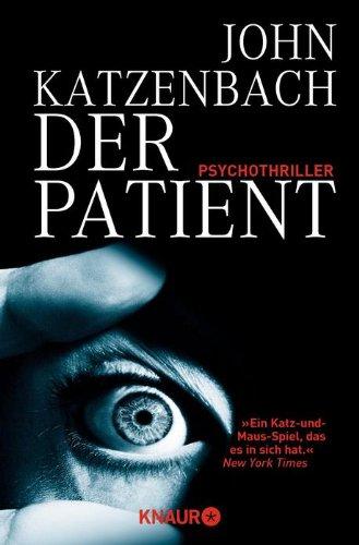 Buchseite und Rezensionen zu 'Der Patient' von John Katzenbach