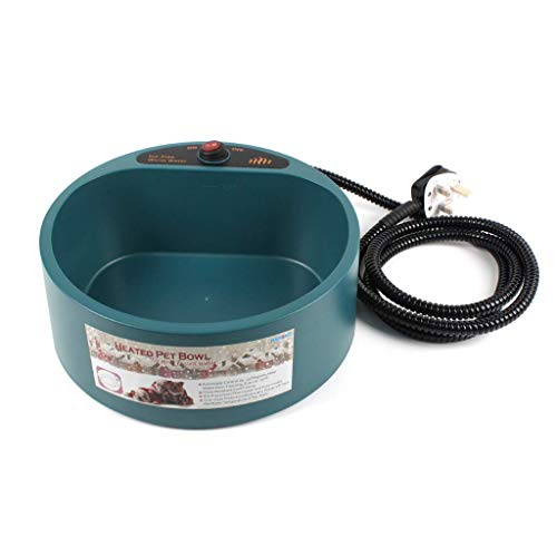 HYLH  Pet Bowl Weighing Drinking Hot Water Tray Cat Dog for Machine Heating Insulation Fever Food (Hot Dog Trays)