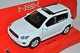Toyota RAV4 SUV Weiss CA30W 2006-2013 ca 1/43 1/36-1/46 Welly Modell Auto
