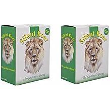 Silent Roar Garden Fertiliser & Cat Repellent 2 Pack (1KG)