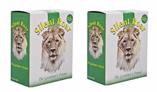 Engrais pour jardin et répulsif à chat Silent Roar, lot de 2 (1KG)