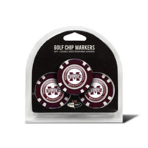 Team Golf NCAA Mississippi Staatliche Universität Golf Chip (3er Pack)