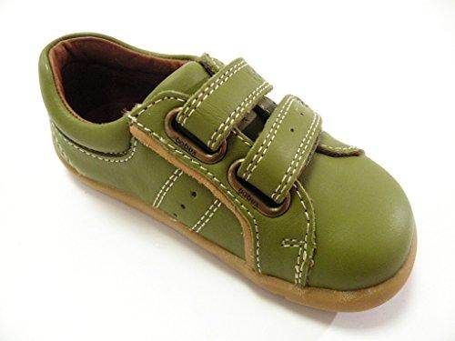 Bobux Chaussure Velcro Vert les Walk Aloès mâle vert Vert