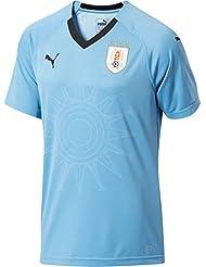 PUMA Uruguay Camiseta, Hombre, Azul (Peacoat), XXL