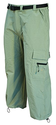 Deproc Active Herren KENTVILLE 7/8 elastische Outdoorhose schilf