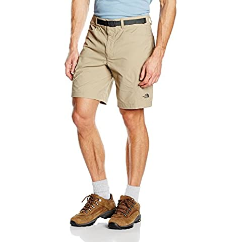 North Face Straight Paramount 3.0 - Pantalón corto para hombre, color beige, talla 30
