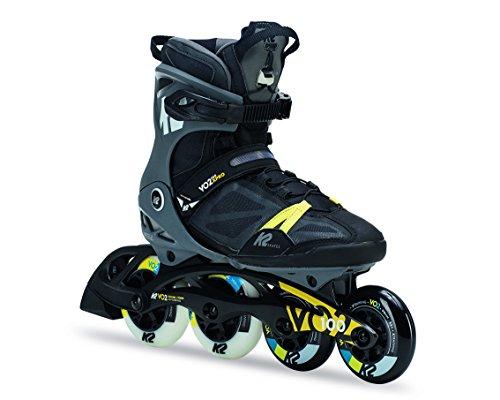 K2 VO2 100 X Pro Inline Skates, Mehrfarbig, 11 US (Skate Performance High In-line)