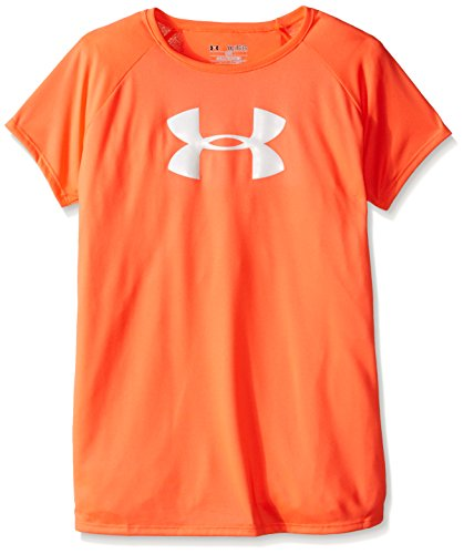 Under Armour Mädchen Solid Big Logo SS T Fitness-T-Shirts & Tanks, Abn, XS