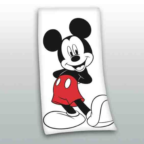 Mickey Mouse Strandtuch 75x150cm Handtuch Mickey-mouse-handtuch