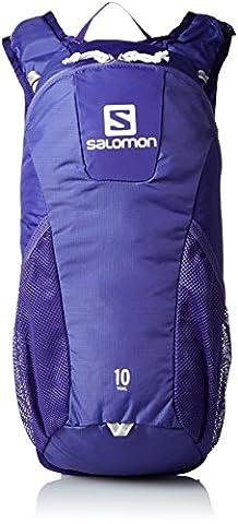 Salomon L39330400 Trail 10 Trail Running Backpack (10 L), 46x 20x 12cm, 294g, Royal Blue