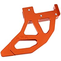 Sharplace Protector de Cubierta de Freno de Rotor Trasero de Disco Para Motocicleta Duro - naranja