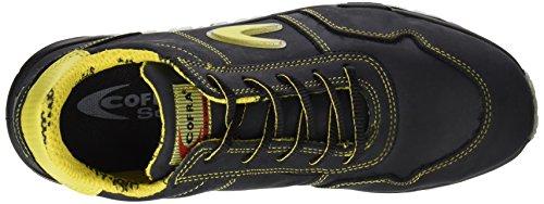 Cofra Safety Coppi Sicherheits-Halbschuhe S3 EN ISO 20345 schwarz gelb schwarz
