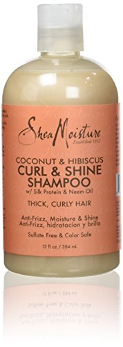 Shea Moisture Coconut and Hibiscus Curl/Shine Shampoo 384 ml