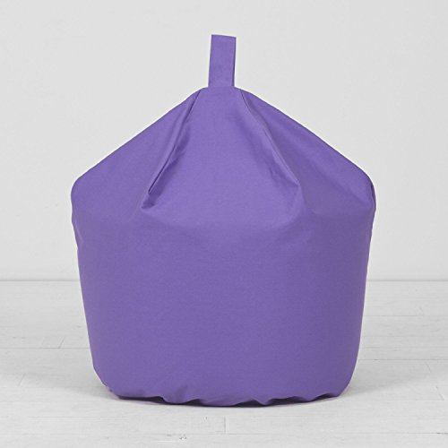 extra-large-xl-childrens-kids-adult-cotton-purple-bean-bag-beanbag-with-filling