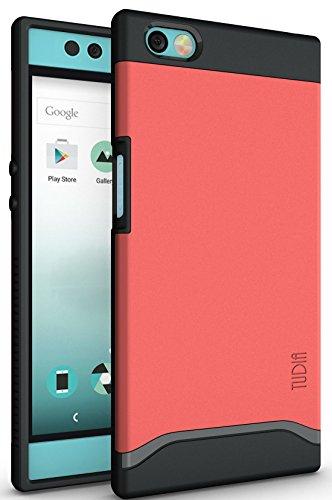 Nextbit Robin Hülle, TUDIA Slim-Fit MERGE Dual Layer Schutzhülle für Nextbit Robin (Rose)