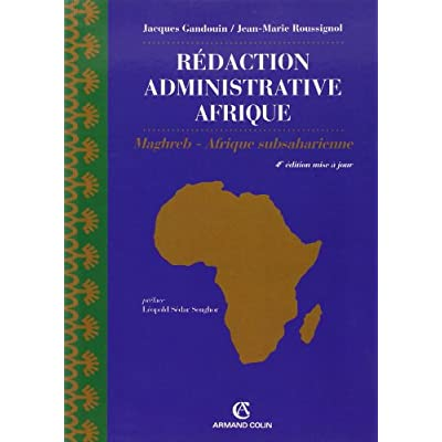 Download Redaction Administrative Afrique Export Np Maghreb Afrique Subsaharienne Pdf Douglaschandler