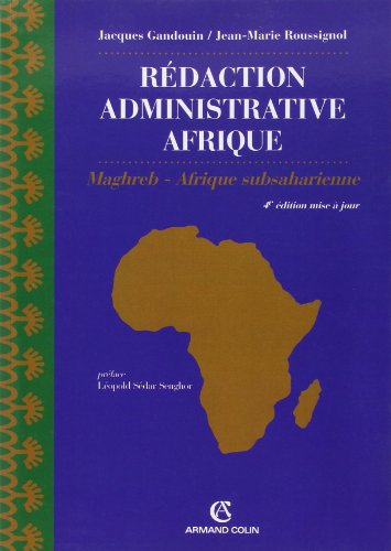 Rdaction Administrative Afrique (Export) Np - Maghreb - Afrique Subsaharienne