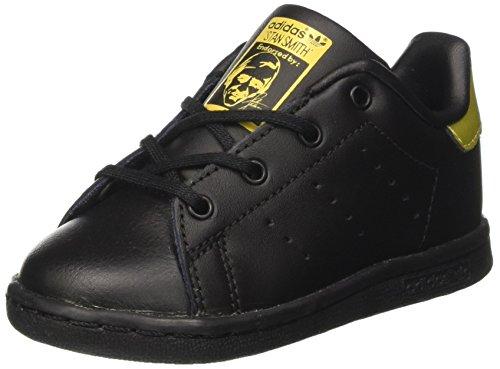 adidas Unisex Baby Stan Smith Sneaker Schwarz (Core Black/cream White/gold Foil)