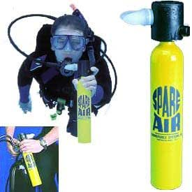 Submersible 3.0 cf Spare Air Scuba Tank by Submersible Systems