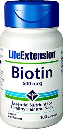 Life Extension Biotin 600mcg, 100 Capsules