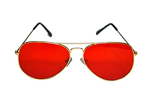 V.S Aviator Sunglasses (Red) (VSI00551)