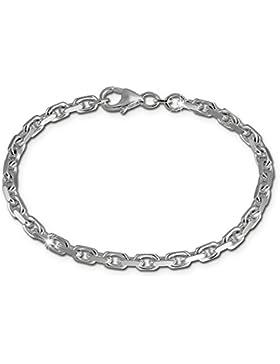 SilberDream Armband Damen Herren Anker 925 Sterling Silber Silberarmband Unisex 19cm SDA2339J