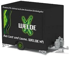 Busch 44941 - Remolque con diseño de Cerveza Welde