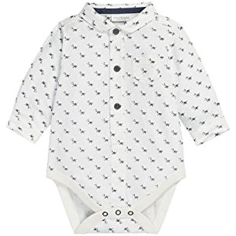 next Bebé Niño Body Estilo Camisa Polo Perritos Con Botones Mono Bolsillo (0 meses-2 años)
