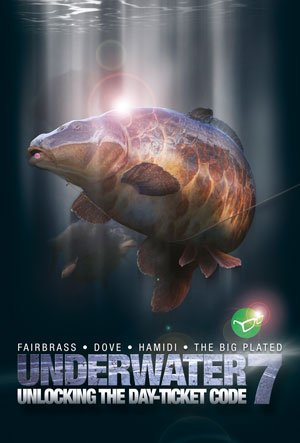 Korda Underwater DVD Teil 7 - Unlocking the day ticket code, englischsprachig