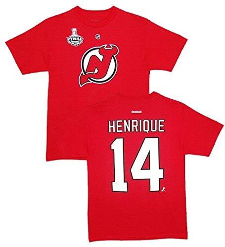 NHL T-Shirt NEW JERSEY DEVILS Adam Henrique Stanley Cup Eishockey (S)