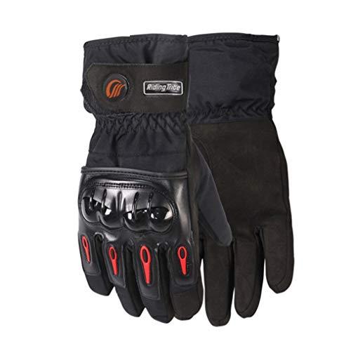 Guanti moto touch screen Guanti moto impermeabili termici antivento Guanti motocross resistenti all'usura per gare di montagna all'aperto
