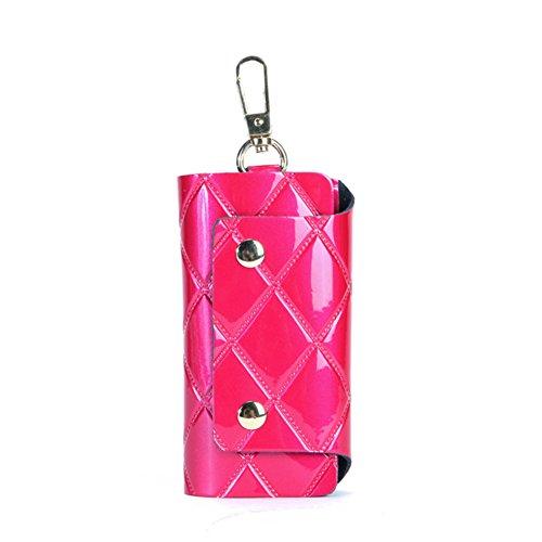 Moda diamante Plaid vernice semplice chiave/ Versione coreana di pulsante di blocco-F D