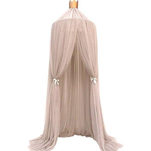 Wingbind Moskitonetz für Kinder, schöne Prinzessin runde Kuppel zum Schlafen lesen spielen, dekorative hängenden Vorhang Zelt