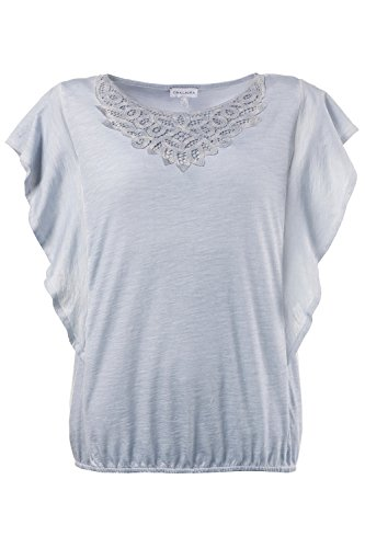 GINA_LAURA Damen Shirt 712498 Hellblau