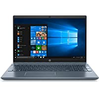 2020 HP Pavilion 15 Home and Business Series Laptop - Intel Core i7-8565U 3.9GHz Max, 15.6-Inch Touch FullHD, 512GB NVMe SSD + 1TB HDD, 16GB RAM, 4GB Nvidia MX250, Backlit Eng-KB, Horizon Blue
