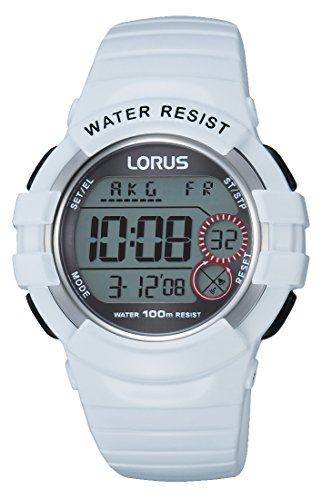 Lorus Watches R2319KX9 Women's Quartz Watch Sports Digital Quartz Rubber