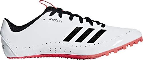 adidas Sprintstar W, Scarpe da Atletica Leggera Donna, Multicolore (Ftwbla/Negbás/Rojsho 000), 41 1/3 EU