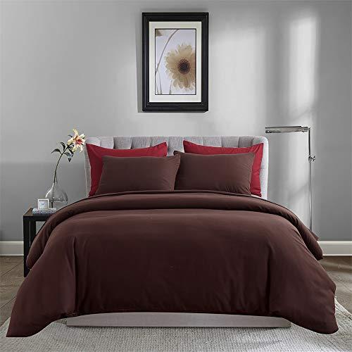 SHJIA Bettwäsche Set Baumwolle Side Brife Modernes Bett Twin Queen King Size Bettbezug Set N 228x228cm