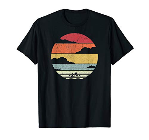 Radfahren Shirt. Jahrgang Fahrrad T-Shirt. -