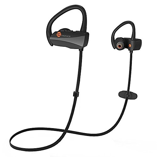 TaoTronics - Cuffie Wireless per Sport (Bluetooth 4.1, aptX, A2DP, 7 ore di Riproduzione, Microfono Incorporato, CVC 6.0)