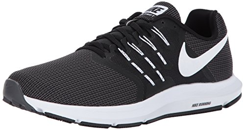 Nike Men's Run Swift Running Shoe Black/White/Dark Grey Size 13 M US