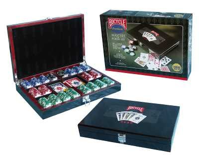 any Bicycle - Masters Poker Set ()