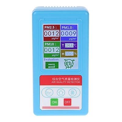Qiman PM1.0 PM 2.5 PM10 Gasanalysator 9 Arten Partikel Detektor Luftqualitätsmonitor von Qiman