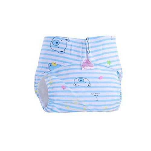 Tefamore Pañales Bebé de Infantiles Reutilizables Pantalones de Entrenamiento de Algodón Lindo S...