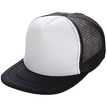 Gorras de béisbol para Hombres y Mujeres, Gorra de Trucker Simple Transpirable Sombrero de Visor