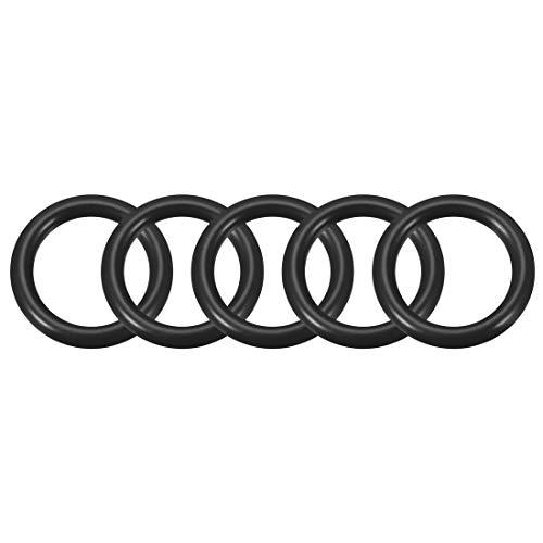 10 Stücke schwarz Nitrile Gummi O Ring NBR Dichtung Dichtschiebe 140x133x3.5mm