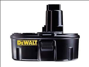 dewalt de9096 2 4ah ni cd battery pack 18v diy tools. Black Bedroom Furniture Sets. Home Design Ideas
