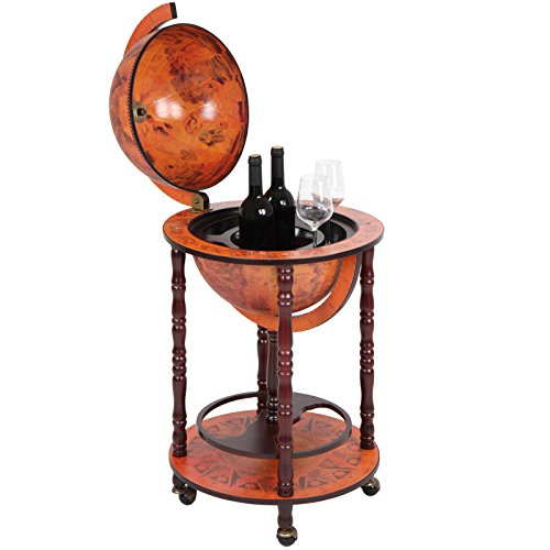 jago bar globe drinks cabinet mini