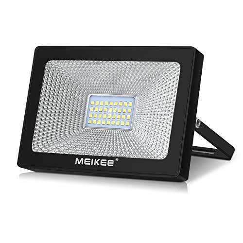 Applique Lm Ip66 Lumière Puissante Froid Extérieur D'extérieur Murale Spot En De Pour Securité 3300 Lampe Led 30w Meikee 6500k Blanc 7gIb6yvYf
