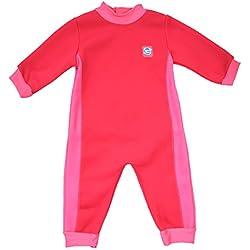 Splash About–Bebés warm-in-one neopreno, Pink Geranium